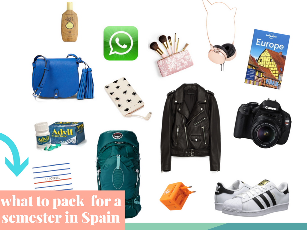 What to Pack for a Study Abroad Semester in Spain